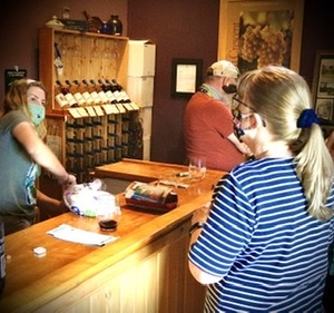 A Wine tasting & Self guided vineyard tour